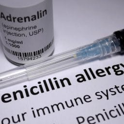Penicillin Allergy anaphylactic shock