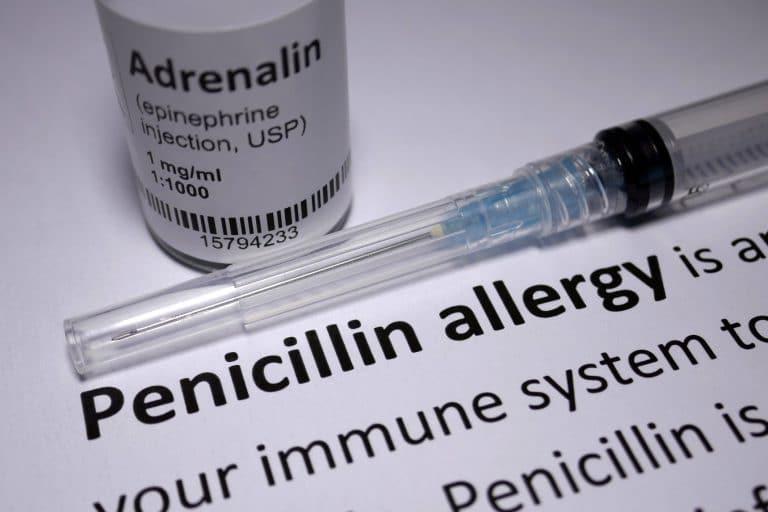 Penicillin Allergy anaphylactic shock